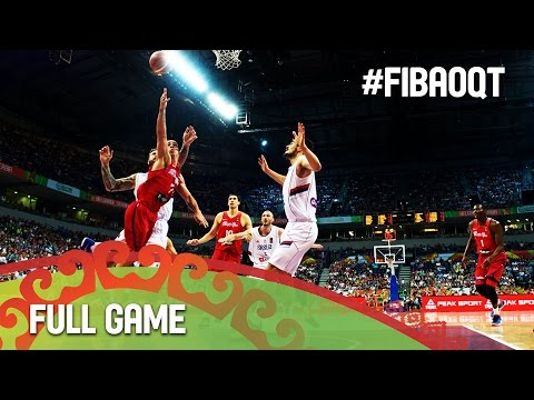 Serbia v Puerto Rico - Final - Full Game - 2016 FIBA Olympic Qualifying Tournament - Serbia