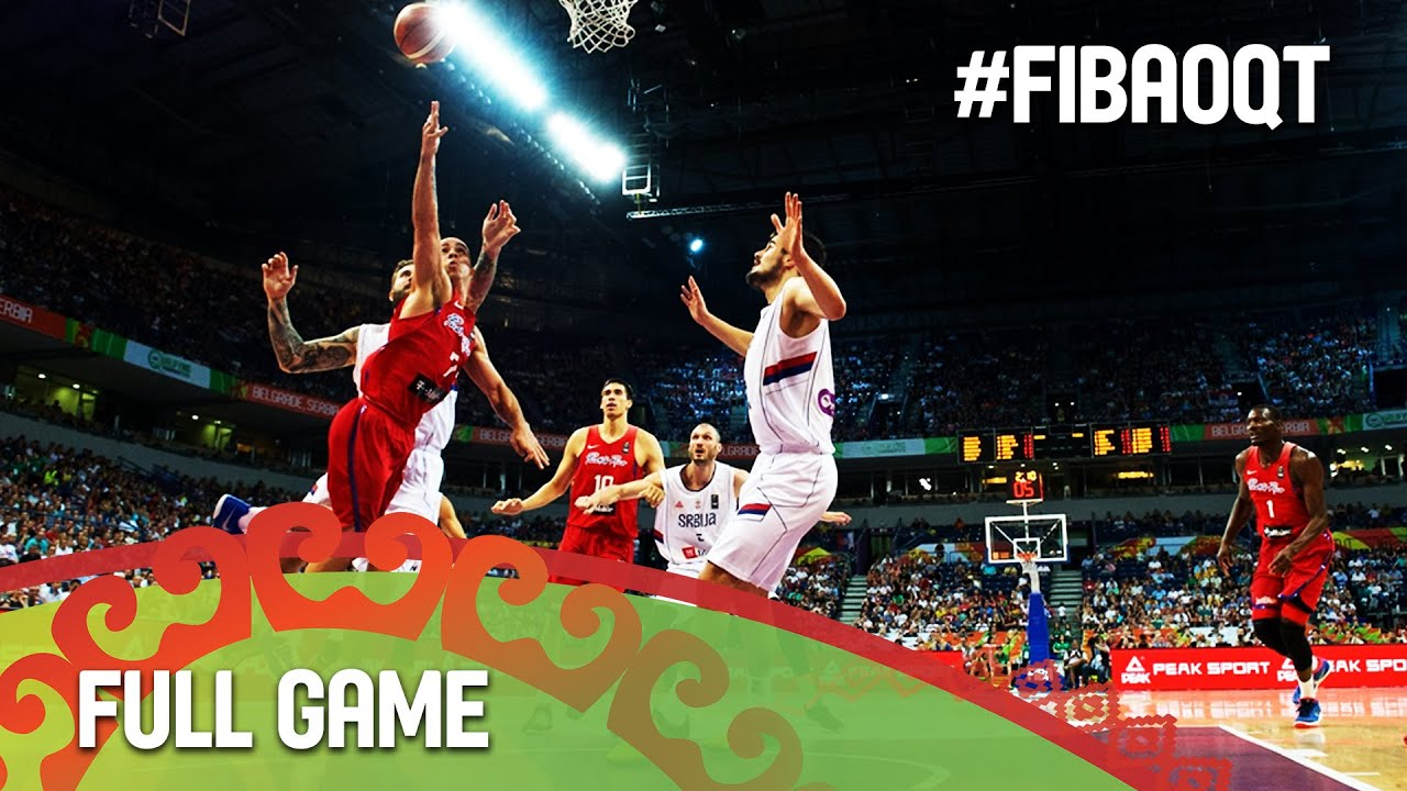 Serbia v Puerto Rico - Final - Full Game