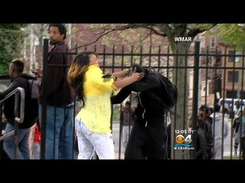 Baltimore Mom Being Praised For Taking Her Son Away From Riots