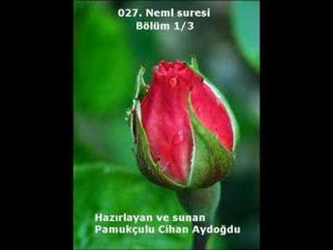 027. Neml Suresi (Bölüm 1/3) - Kur'an-ı Kerim
