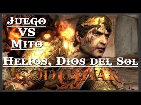 God of War    Juego VS Mito    Helios, dios del Sol