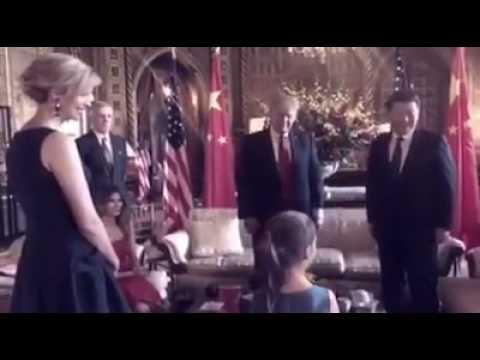 Arabella Kushner Sings Chinese Songs at US-China Summit
