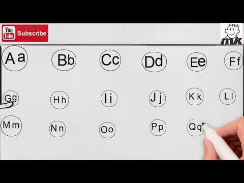 Learn English for kids A B C    تعليم  ايه بي سي للاطفال بطريق شيقه بالرسم