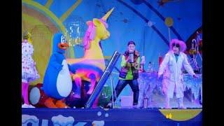 Шоу в Парке аттракционов и развлечений в Крокусе.  Парк виртуальных развлечений «Мир будущего».