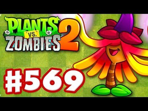 Plants vs. Zombies 2 - Gameplay Walkthrough Part 569 - Witch Hazel Premium Seeds Epic Quest!
