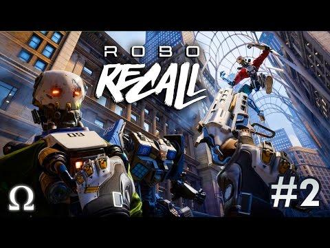 BOSS FIGHT, ODIN THE INTERNET ADDICT! | Robo Recall #2 VR Oculus Rift Virtual Reality Gameplay