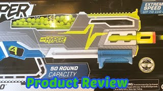 Nerf Hyper Siege-50 Review
