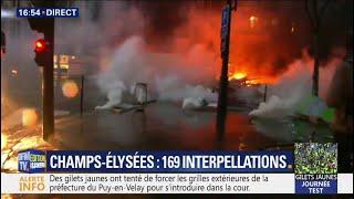 Heurts à Paris: un nouvel incendie déclaré boulevard Malesherbes