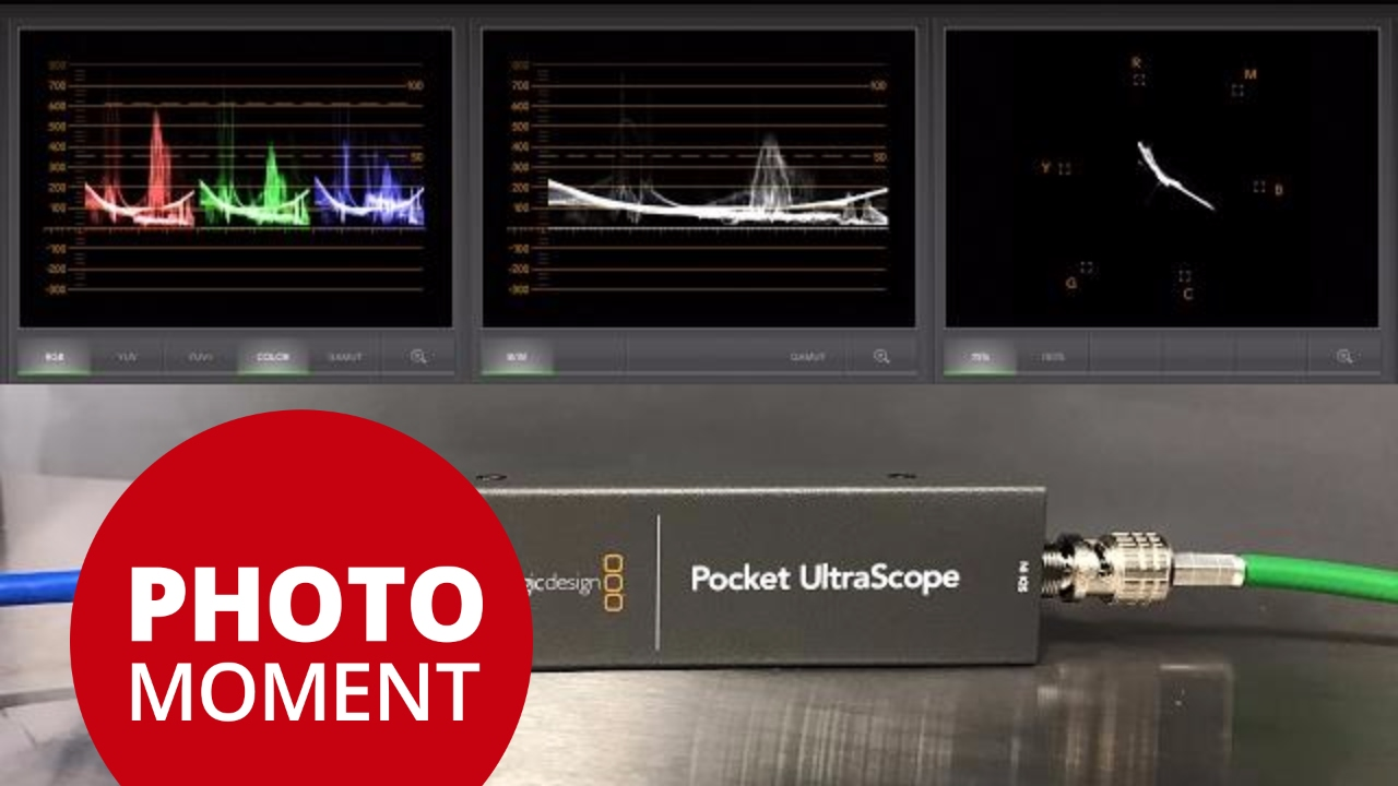 Pocket Ultrascope By Blackmagic Design First Look Photojoseph S Photo Moment 2017 02 10 Youtube