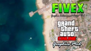 GTA V Online MOD Grafico!!! | FiveX Enhancement Graphics v2.2 | NO BAN! | 1.36