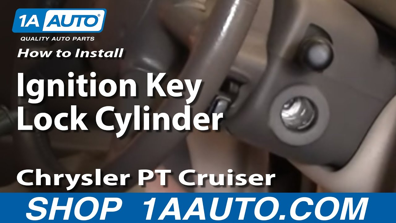 How To Install Replace Worn Out Ignition Lock Cylinder And Key Pt Cruiser Engine Diagram Front End Chrysler 01 05 1aautocom