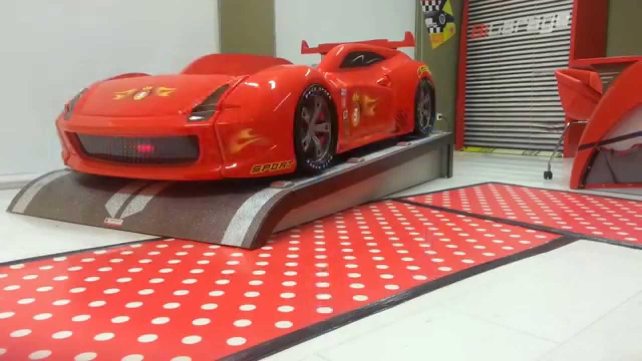 f00a413a52d Παιδικό κρεβάτι αυτοκίνητο Turbo King R Full Extra - YouTube
