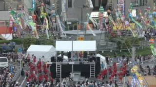 一宮市七夕祭りダンスコンテストエキシビションの映像です。