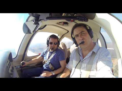 Cirrus SR22 GT Flight in South Africa