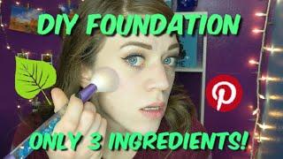 DIY Natural Powder and Liquid Foundation | Three Ingredients