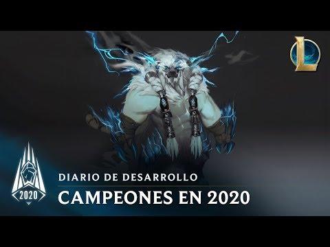 Campeones de la temporada 2020   Diario de desarrollo - League of Legends