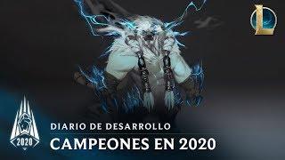 Campeones de la temporada 2020 | Diario de desarrollo - League of Legends