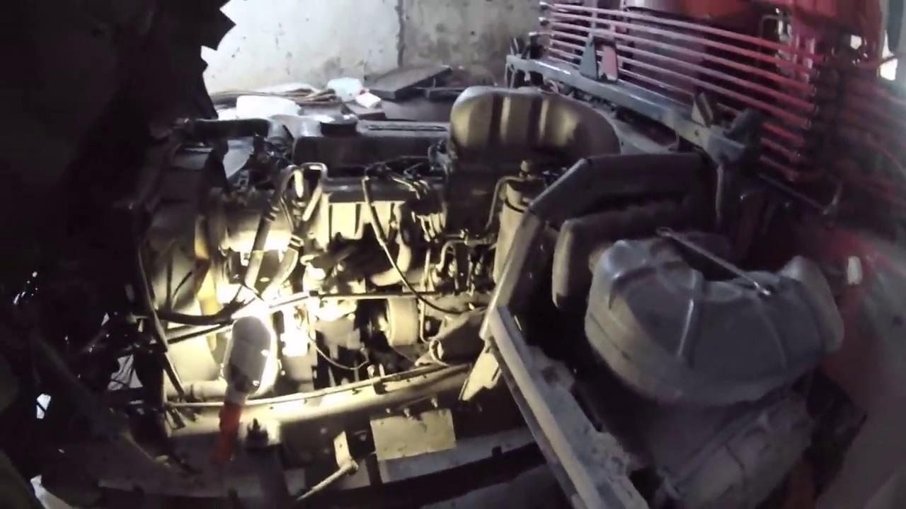 топливная система nissan diesel fe6 схема