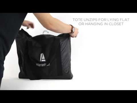 elleven™ Computer Travel Tote with Garment Bag (# 25739) - Promo Direct