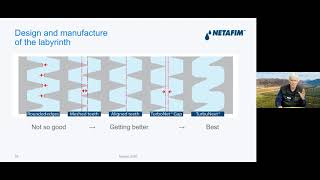 Inside a quality dripper - Netafim Webinar at Nampo Virtual