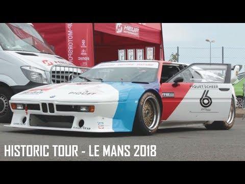 Historic Tour - Le Mans 2018