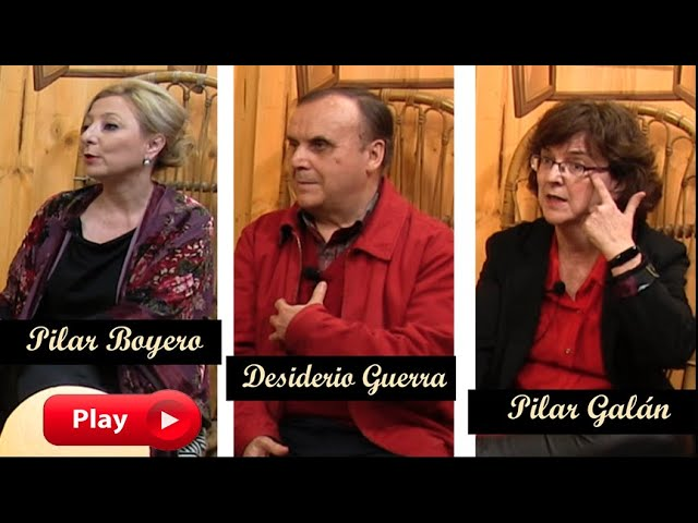 LA NOCHE CON ÁNGEL - Pilar Galán, Desiderio Guerra, Pilar Boyero