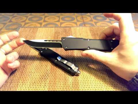 Нож Microtech Combat troodon - китайская копия!!!   (сравнение поколений)