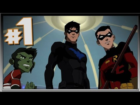 Young Justice Legacy Part 1 Greece & Siberia Walkthrough Live (Gaming With The Kwings)