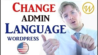 WordPress - Change Admin Language