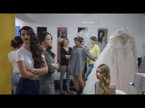 Backstage defile' Alta Moda Sposa 2017 wedding gallery photo and dress