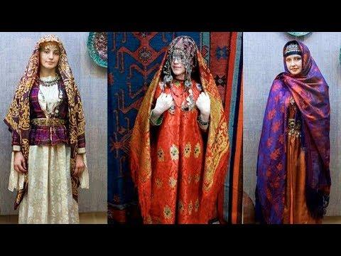 Как нарисовать национальный костюм кумыков