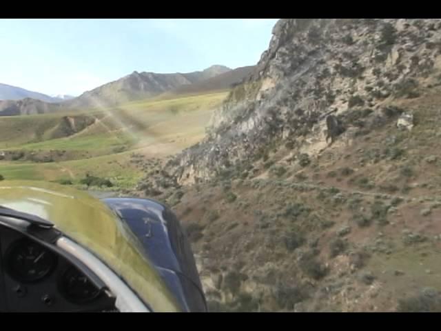 Idaho 2011 Flying B Ranch landing