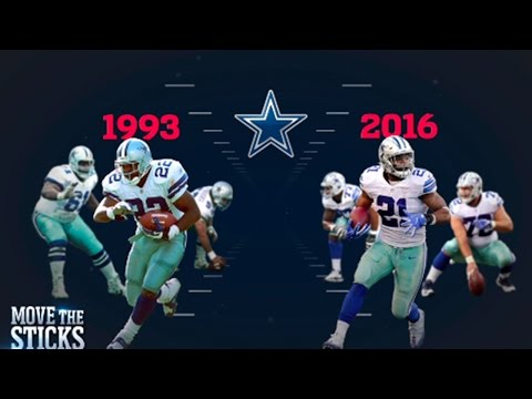 Ezekiel Elliott or Emmitt Smith: Which Cowboys O-Line was Better? | NFL | Move the Sticks