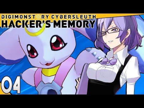 Digimon Story Cyber Sleuth Hackers Memory Part 4 Lunamon & Mirei's List! PS4 Gameplay Walkthrough