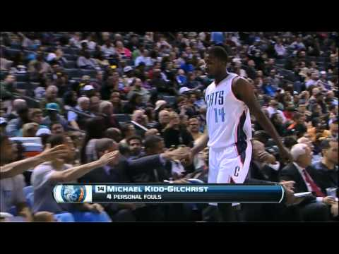 Paul George - 2 points vs Bobcats Full Highlights (2014.03.05)