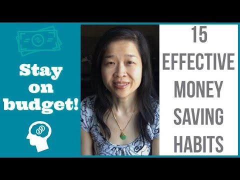15 MONEY SAVING TIPS 2019 |  Frugal Habits | Save money | Stay on budget