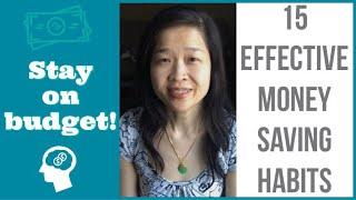 15 MONEY SAVING TIPS 2019 |  Frugal Habits | Save money | St...