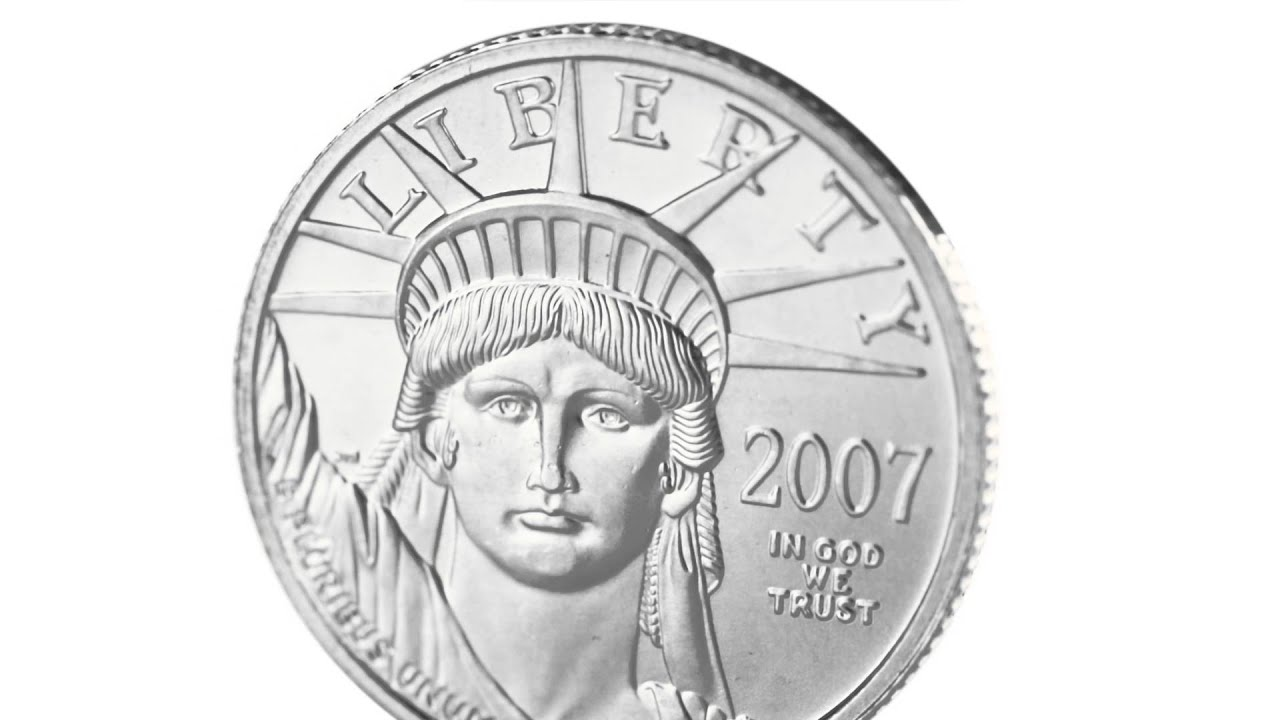 mint platinum plated copy coin american item dollar