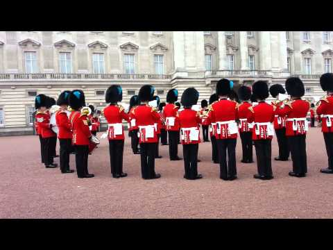 Game of Thrones theme song played  the Queens guards