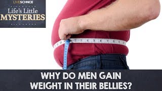 Why Do Men Gain Weight in Their Bellies?