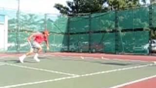 Большой теннис Видео урок Теннис Украина Академия