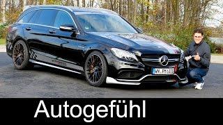 Mercedes-Benz C63 AMG Estate 2015 Videos