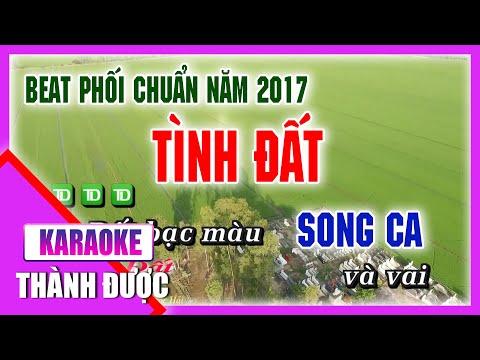 [ Karaoke ] Tình Đất ( Beat Chuẩn ) - Tống Thuận ft. Ngọc Hải By Thành Được
