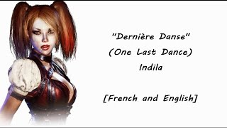 Dernière Danse (One Last Dance) French & English Lyrics  [Requested]