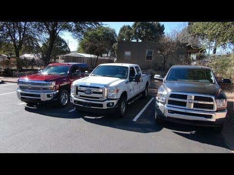 2015 chevy silverado 2500 vs ram 2500 vs ford f 250 diesel towing test matchup youtube. Black Bedroom Furniture Sets. Home Design Ideas