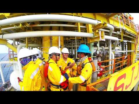 Shell CAT3 Offshore Jacket Boat Landing Installation with Dayang Enterprise & Perdana Excelsior