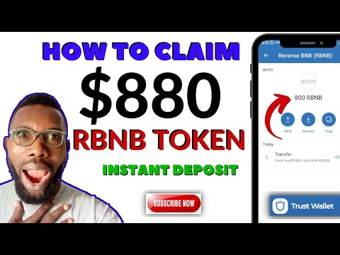 HOW TO CLAIM 800 REVERSED BNB IN TRUST WALLET