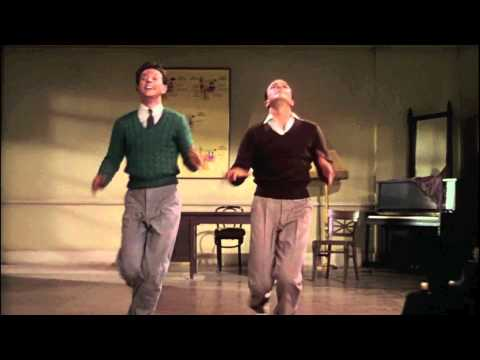 "Gene Kelly & Donald O'Connor (dancing in tune to) ""I Love to Boogie"" HD"