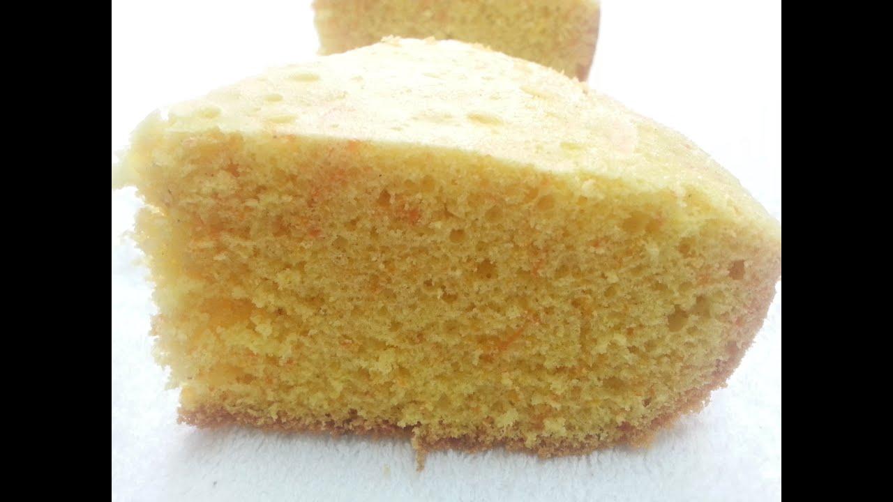 Butter Cake With Custard Powder