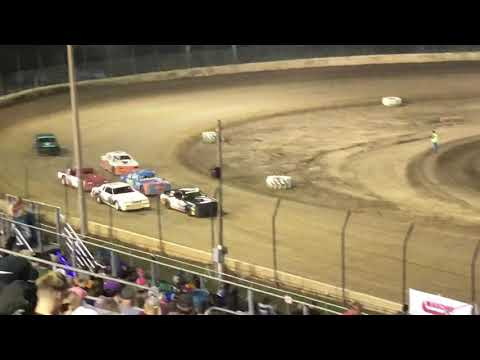 Plymouth Speedway Thunder Car Heat 1 8/17/19
